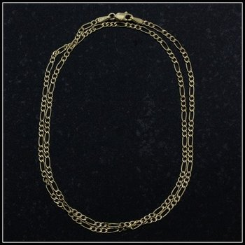Solid 10k Yellow Gold Figarucci Necklace