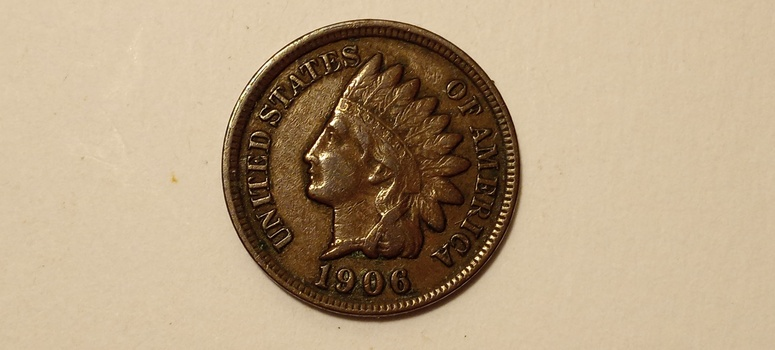1906 Indian Head Cent Penny High Grade