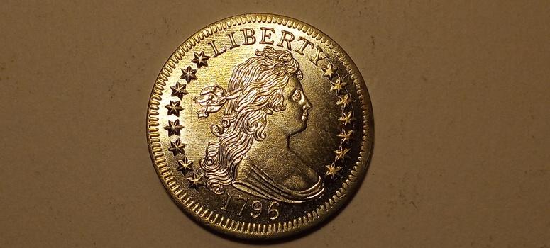 Fantasy Pattern 1796 Draped Bust Silver