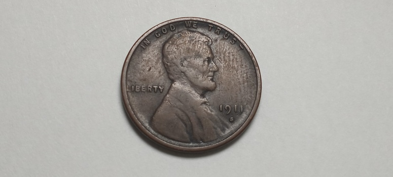 1911 S Lincoln Cent Wheat Penny High Grade