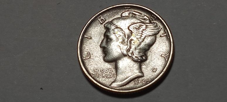 1945 S Mercury Dime Uncirculated