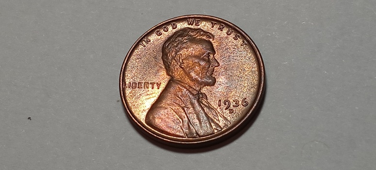 1936 D Lincoln Cent Wheat Penny Uncirculated