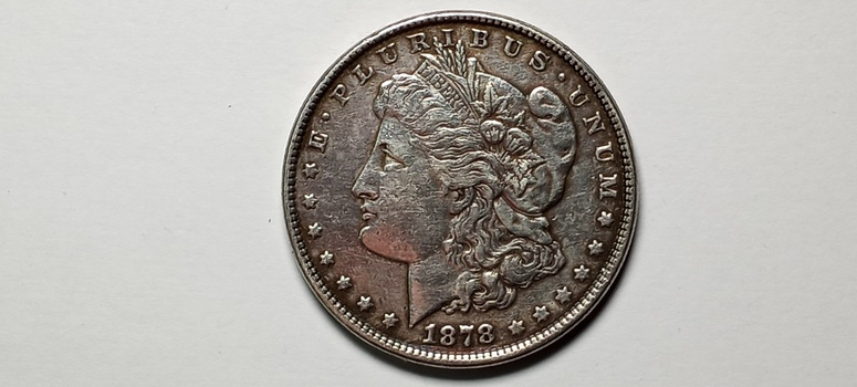 1878 Morgan Silver Dollar Reverse of 79