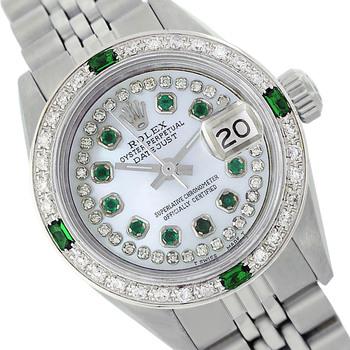 Rolex Lady Datejust 26mm Diamond Dial Diamond Bezel