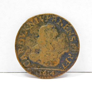 1614 French States Nevers & Rethel 2 Liard