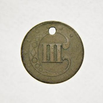 1800's Silver 3c Piece