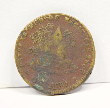 1833 Mexico Zacatecas State 1/8 Real