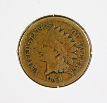 1860 Indian Head Cent Better Grade