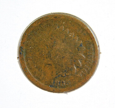 1865 Indian Head Cent Better Date