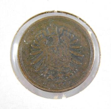 1875 Germany 1 Pfennig High Grade