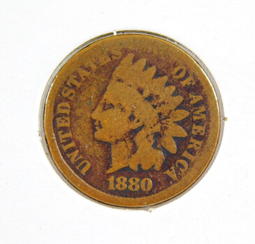 1880 Indian Head Cent