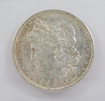 1880 Morgan Silver Dollar High Grade