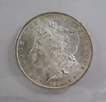 1884-O Morgan Silver Dollar*New Orleans Minted*Uncirculated