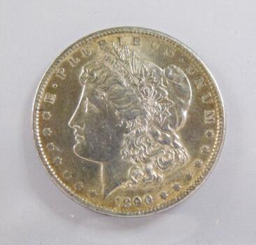 1890 Morgan Silver Dollar High Grade