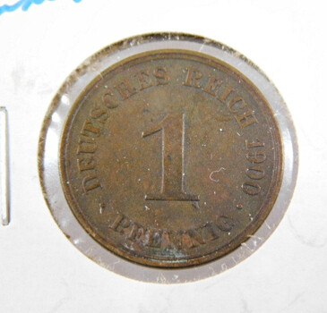 1900 Germany Pfennig High Grade