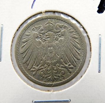 1900A Germany 5 Pfenning