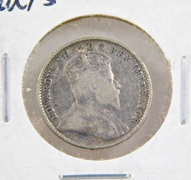 1902 Canada Silver 5 Cents