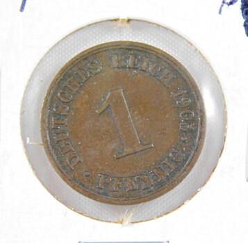 1905 Germany 1 Pfennig High Grade