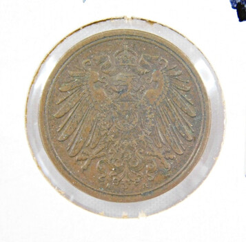 1906 Germany 1 Pfennig High Grade