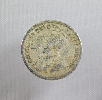 1920 Canada Silver 5 Cents High Grade