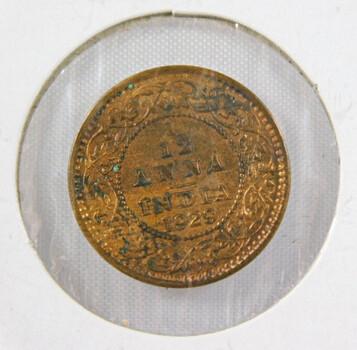 1923 India 1/12 Anna High Grade