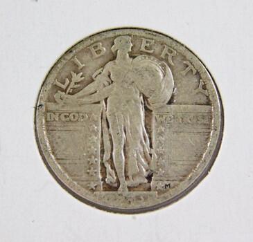 1923 Silver Standing Liberty Quarter Better Grade