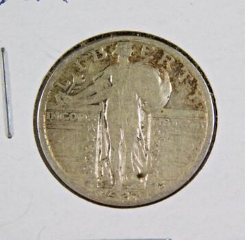 1927 Silver Standing Liberty Quarter Better Grade