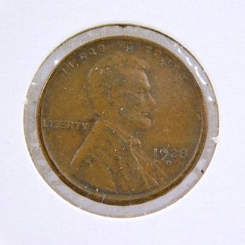 1928-D Lincoln Wheat Cent  - High Grade