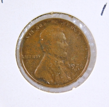 1929-S Lincoln Wheat Cent