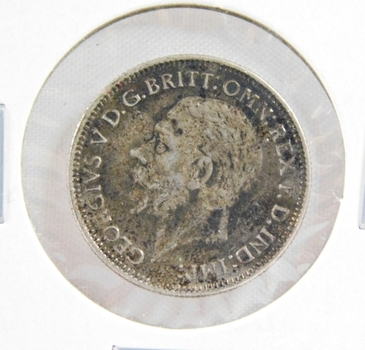 1933 Great Britain Silver 6 Pence