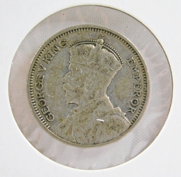 1934 New Zealand Silver 6 Pence