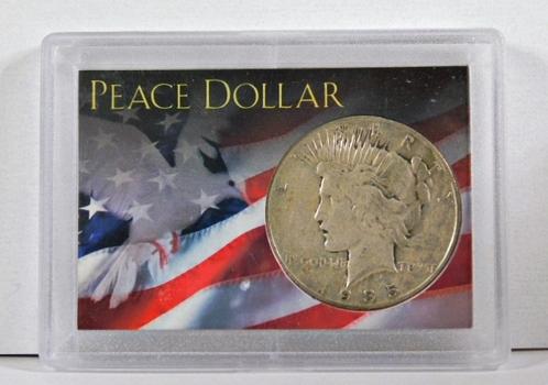 1935-S Peace Silver Dollar*.7734oz ASW*Nice Detail In Custom Holder