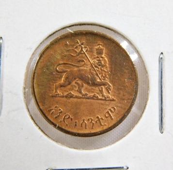 1936 Ethiopia 1 Cent*High Grade