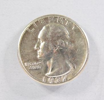 1937-S Silver Washington Quarter*High Grade