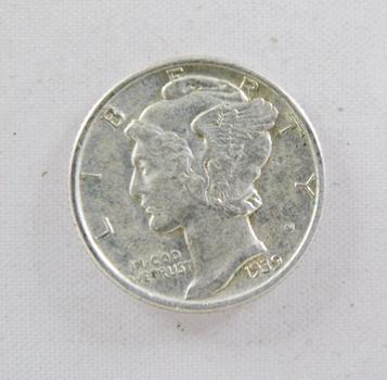 1939 Silver Mercury Dime*Nice Detail