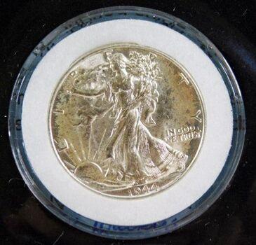 1944 Silver Walking Liberty Half Dollar*High Grade*Authenticated