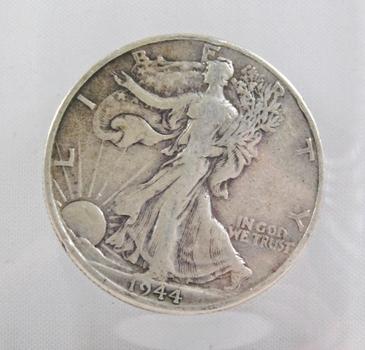 1944-D Walking Liberty Silver Half Dollar - Denver Minted
