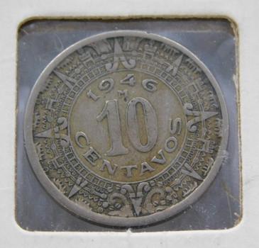 1946 Mexico 10 Centavos
