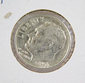 1948-S Roosevelt Silver Dime High Grade