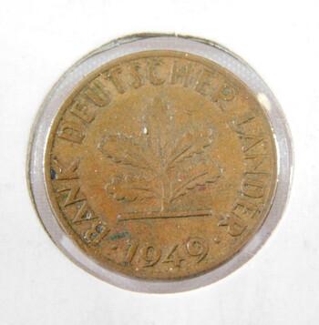 1949 Germany 1 Pfennig High Grade