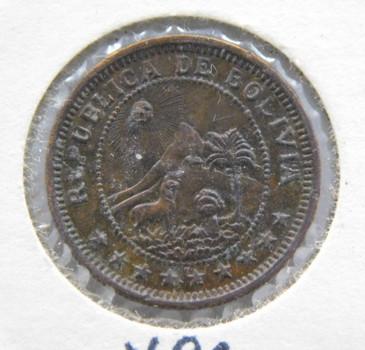 1951 Bolivia 1 Boliviano
