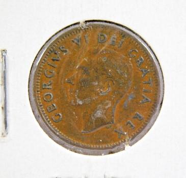 1951 Canada 1 Cent High Grade