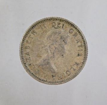 1955 Canada Silver Dime