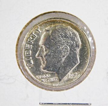 1955 Roosevelt Dime Silver High Grade