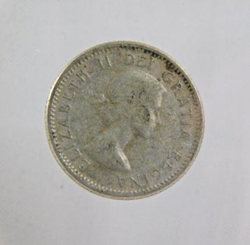 1956 Canada Silver Dime