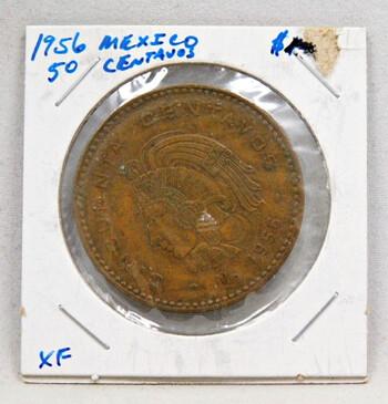 1956 Mexico 50 Centavos High Grade