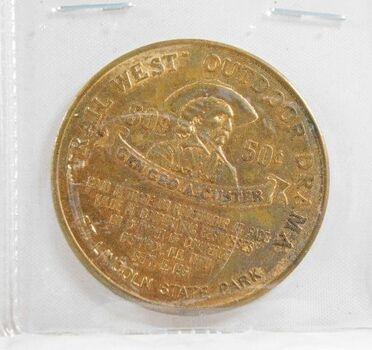 1961 Medallion Commemorating Dakota Territory Centennial*Gen. George Custer