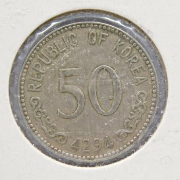 1961 South Korea 50 Hwan