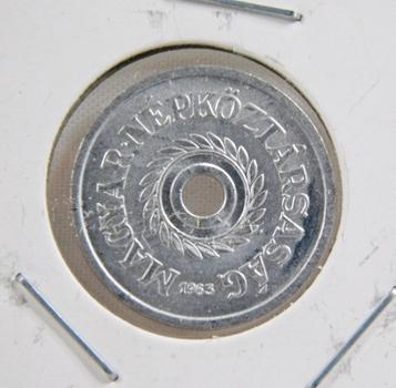1963 Hungary 2 Filler - Uncirculated