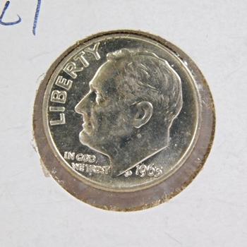 1963-D Silver Roosevelt Dime High Grade